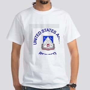 Army-87th-Infantry-Reg-Retired-Bu White T-Shirt