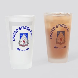 Army-87th-Infantry-Reg-Retired-Butt Drinking Glass