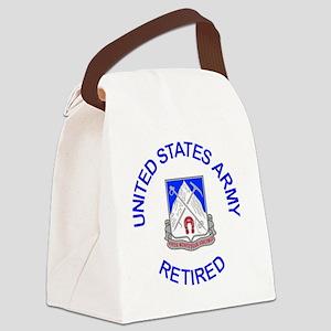 Army-87th-Infantry-Reg-Retired-Bu Canvas Lunch Bag