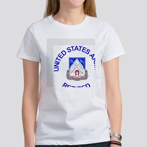 Army-87th-Infantry-Reg-Retired-But Women's T-Shirt