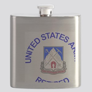 Army-87th-Infantry-Reg-Retired-Button Flask