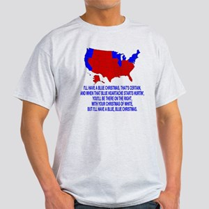 Bush-Blue-Christmas Light T-Shirt