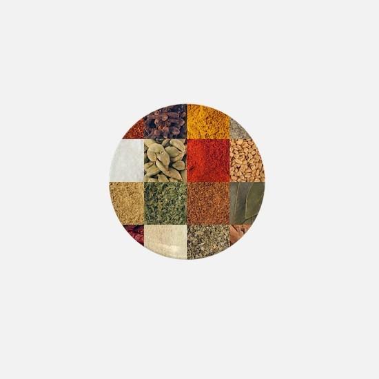 Spices Mini Button