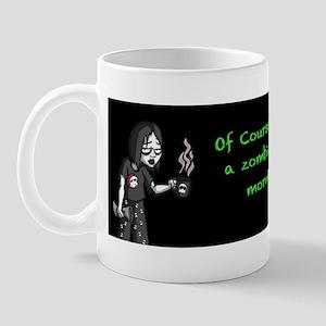 Immortal Zombie Girl- Mug Mugs