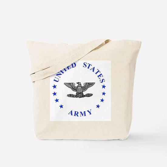 Army-Colonel-Blue.gif Tote Bag