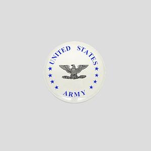 Army-Colonel-Blue Mini Button