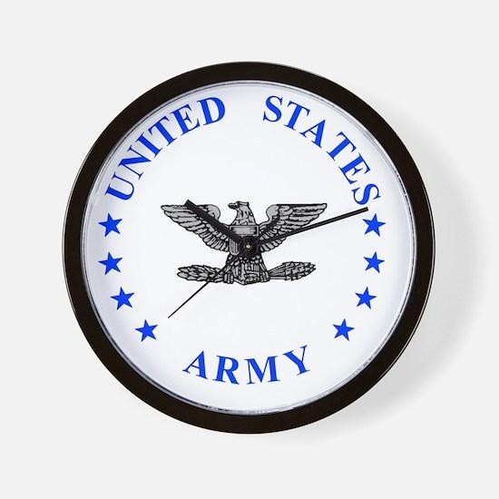 Army-Colonel-Blue.gif Wall Clock