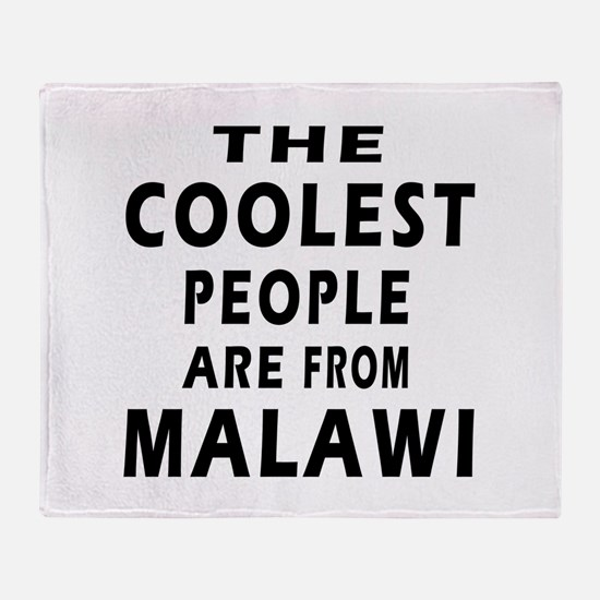 The Coolest Malawi Designs Throw Blanket