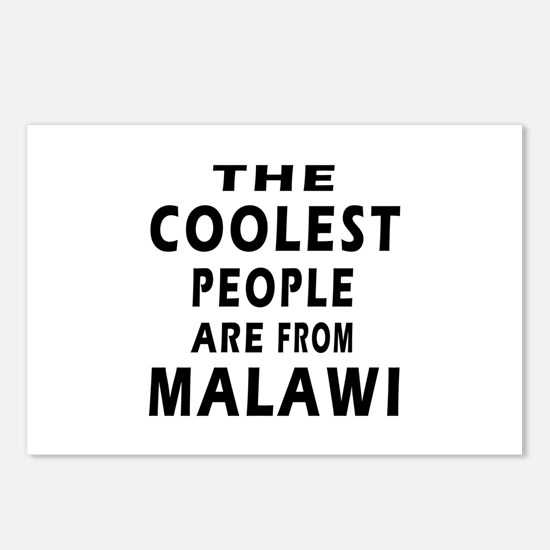 The Coolest Malawi Designs Postcards (Package of 8