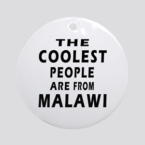 The Coolest Malawi Designs Ornament (Round)