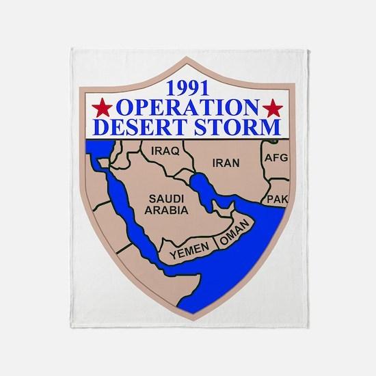USAR-89th-RRC-Desert-Storm.gif Throw Blanket