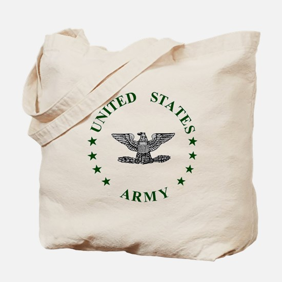Army-Colonel-Green.gif Tote Bag