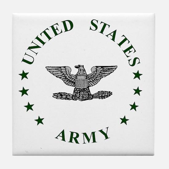 Army-Colonel-Green.gif Tile Coaster