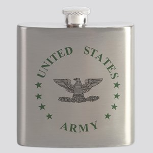 Army-Colonel-Green Flask