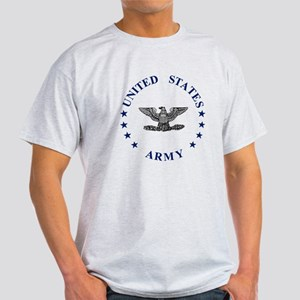 Army-Colonel-Blue-2 Light T-Shirt