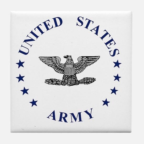 Army-Colonel-Blue-2.gif Tile Coaster