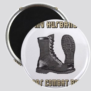 Army-My-Husband-Wears-Combat-Boots-Khaki.gi Magnet