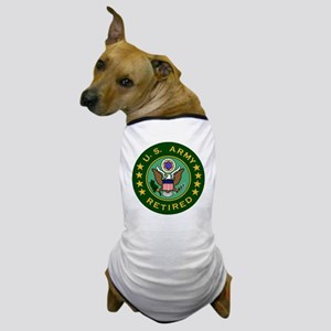 Army-Retired-For-Stripes Dog T-Shirt