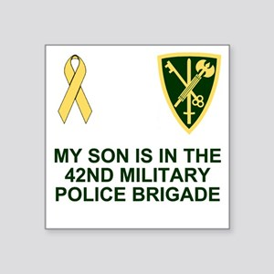 """Army-42nd-MP-Bde-My-Son Square Sticker 3"""" x 3"""""""