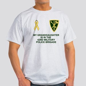 Army-42nd-MP-Bde-My-Granddaughter.gi Light T-Shirt
