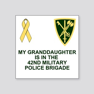 "Army-42nd-MP-Bde-My-Grandda Square Sticker 3"" x 3"""
