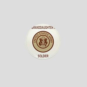 Army-My-Grandaughter-Khaki Mini Button