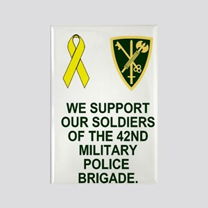 Army-42nd-MP-Bde-Mini-Poster Rectangle Magnet