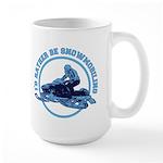 Snowmobile Large Mug