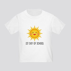 1st Day Of School sun Toddler T-Shirt