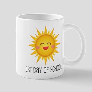 1st Day Of School sun Mug