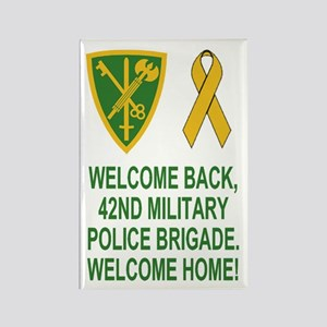 Army-42nd-MP-Brigade-Welcome-Home Rectangle Magnet