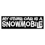 Snowmobile Bumper Sticker