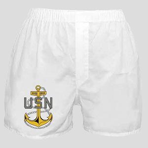 Navy-CPO-Anchor-Bonnie Boxer Shorts