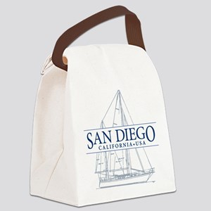 San Diego - Canvas Lunch Bag