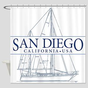 San Diego - Shower Curtain