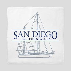 San Diego - Queen Duvet