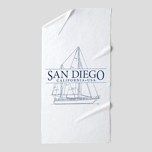San Diego - Beach Towel
