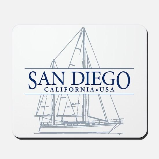 San Diego - Mousepad