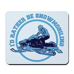 Snowmobile Mousepad