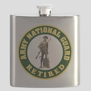ARNG-Retired-Logo-For-Stripes Flask