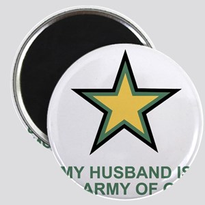 Army-Of-One-My-Husband-MP Magnet