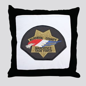 Alameda County NTF Throw Pillow