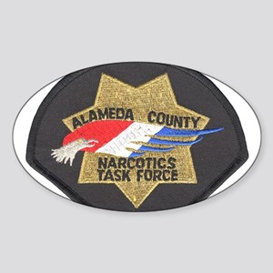 Alameda County NTF Oval Sticker