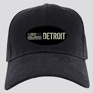 Black Flag: Detroit Black Cap with Patch
