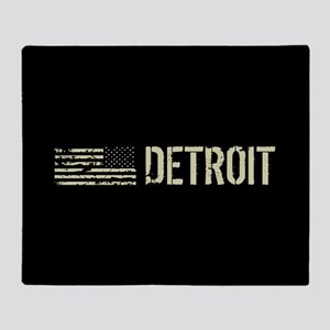 Black Flag: Detroit Throw Blanket