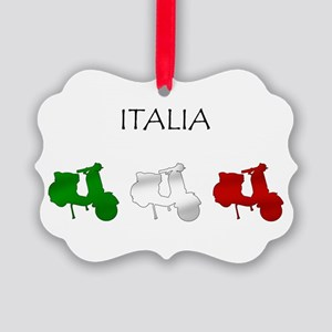 Italian Scooters Ornament