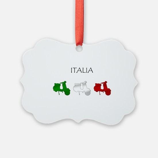 Italian Scooters Ornament