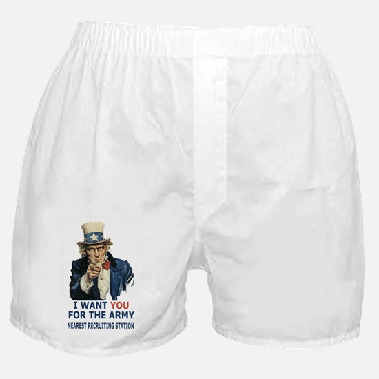 Army-Uncle-Sam-Poster.gif Boxer Shorts