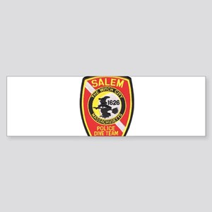 Salem Police Diver Bumper Sticker