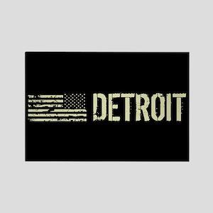 Black Flag: Detroit Rectangle Magnet